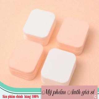 [Hàng chuẩn USA - kèm túi] Bông mút, bông đánh phấn hình vuông siêu mềm mịn, tạo lớp nền mềm mịn, mượt mà Crown puff thumbnail