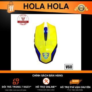 [HCM]Chuột game thủ Motospeed V60 DPI 3500 Optical Gaming Mouse (Vàng) thumbnail