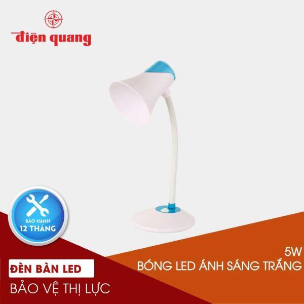 Đèn bàn bảo vệ thị lực Điện Quang ĐQ DKL15 WBK B (màu trắng - đen, bóng led daylight)