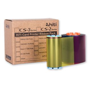 Ribbon mực in màu máy in thẻ nhựa HiTi CS200e YMCKO thumbnail