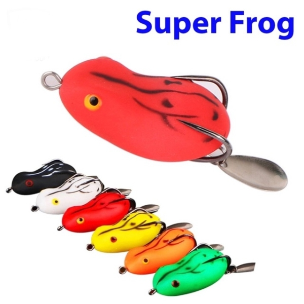 mồi lure nhái hơi Super Frog siêu hot