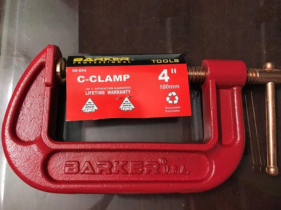 Vam ( Cảo ) chữ C 4 inch BARKER 68-604