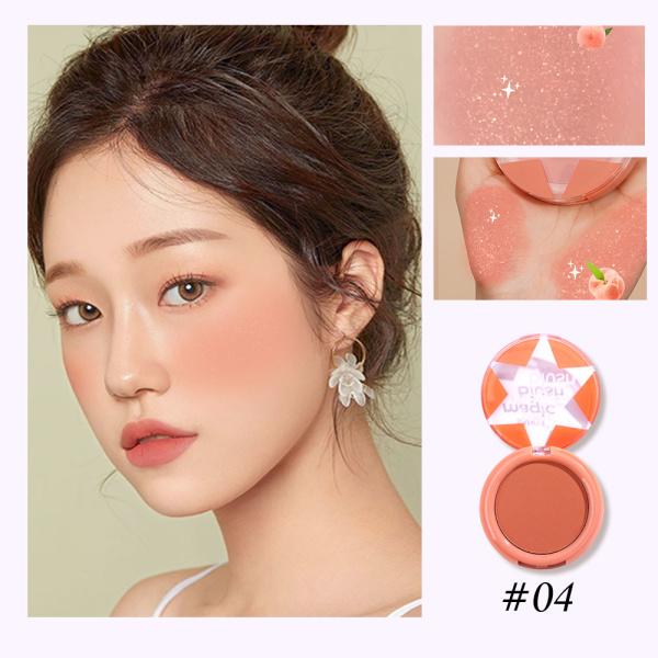 SANIYE Mờ Phấn Má Hồng đáng yêu Bảng má hồng E0142