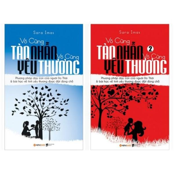 Sách - Combo Vô Cùng Tàn Nhẫn, Vô Cùng Yêu Thương ( Tập 1+ Tập 2) Tặng Kèm bookmark
