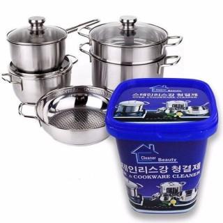 Kem Tẩy Xoong Nồi Đa Năng Hàn Quốc Kem Tẩy Trắng Vệ Sinh Nồi Chảo Đa Năng kem tẩy trắng vật dụng gia đình bách hóa tổng hợp thiết bị phòng tắm đồ dùng nhà bếp - chăm sóc nhà cửa - làm sạch nhà cửa - chất tẩy đa năng thumbnail