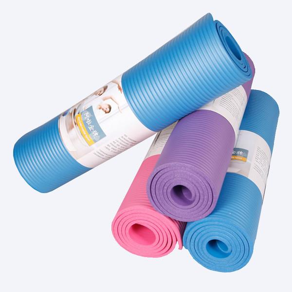 ThảM TậP Yoga ChốNg Trơn TrượT 6Mm - MàU NgẫU Nhiên