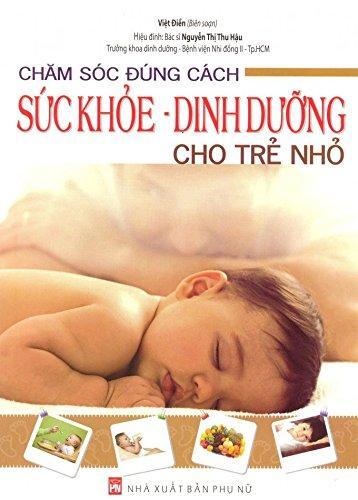 Mua Sách Chăm Sóc Đúng Cách Sức Khoẻ - Dinh Dưỡng Cho Trẻ Nhỏ