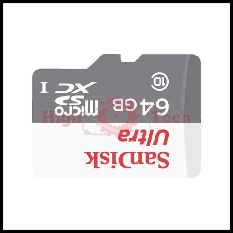 Thẻ nhớ microSDXC SanDisk Ultra 64GB upto 80MB-s 533x tặng đèn LED USB -
