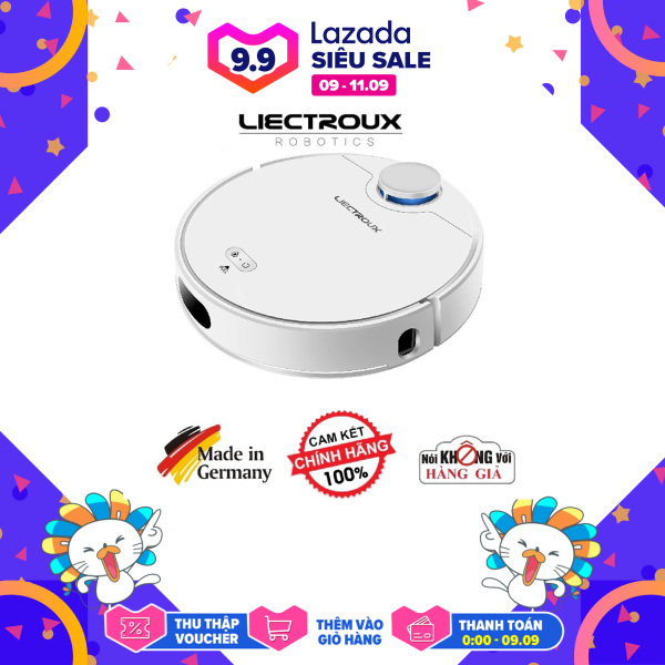 Robot hút bụi lau nhà thông minh Liectroux ZK901 hàng Mới chính hãng