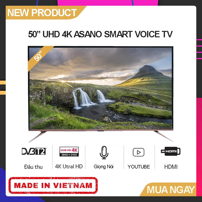 Bảng giá Smart Voice TV Asano 50 inch Full HD - Model 50EK7 (Android 7.1, Tích hợp giọng nói, Youtube, Tích hợp DVB-T2) - Bảo Hành 2 Năm