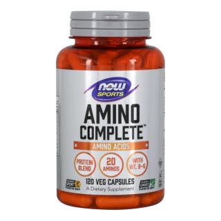 Amino Complete Bổ sung 20 Axit Amin thiết yếu + Vitamin B-6 hỗ trợ luyện tập thể thao, hồi phục và thúc đẩy phát triển cơ bắp (120 Viên) thumbnail