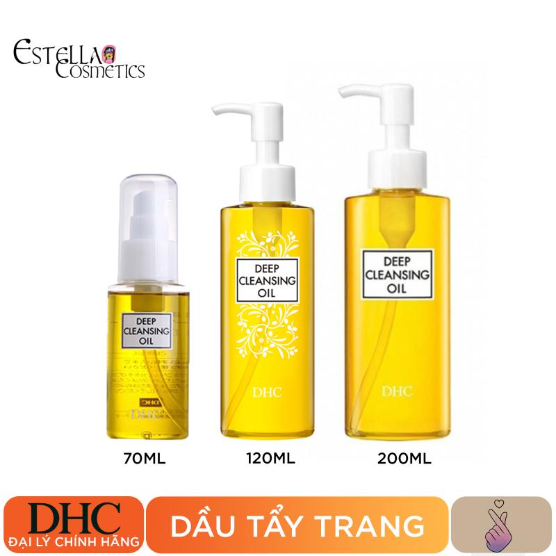 Dầu Tẩy Trang DHC Olive Deep Cleansing Oil (70ml, 120ml, 200ml) cao cấp