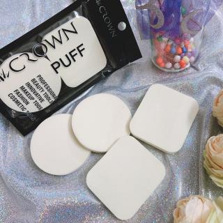 Set 2 Mút trang điểm CROWN chất liệu xốp mềm mại , Bông trang điểm,Dụng cụ trang điểm XP-BM01 thumbnail