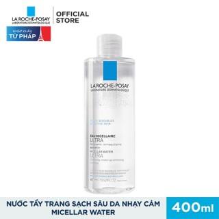 Nước Tẩy Trang Giàu Khoáng Làm Sạch Sâu Cho Da Nhạy Cảm La Roche Posay Micellar Water Ultra Sensitive Skin 100ML - 200ML - 400ML thumbnail