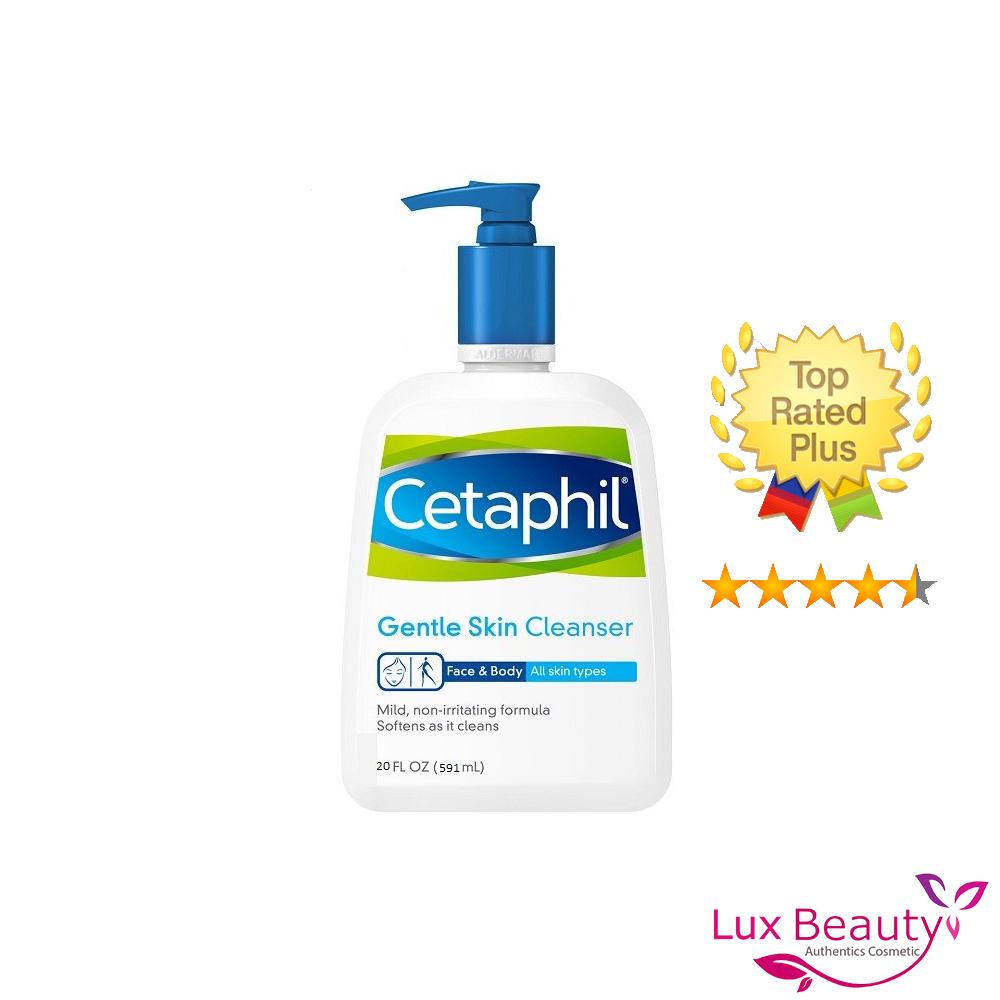 Sữa Rửa Mặt Cetaphil Dịu Nhẹ Không Xà Phòng Gentle Skin Cleanser 591ml