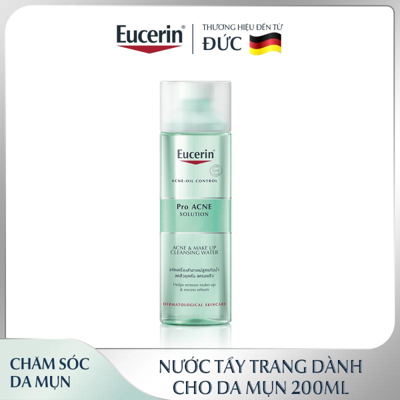 Nước Tẩy Trang Cho Da Mụn Eucerin Pro Acne Make Up Cleansing Water 200ml giá rẻ