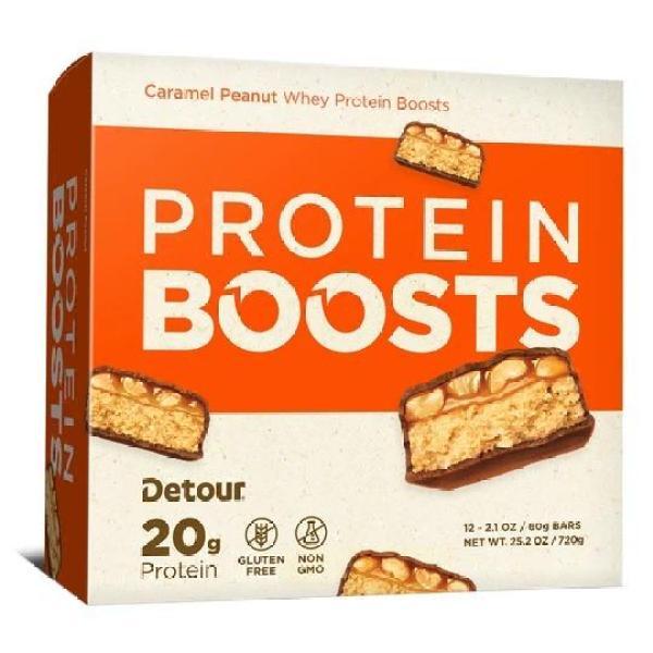 Bánh Protein Bar : DETOUR BAR 20g protein/thanh (hộp 12 thanh) nhập khẩu USA cao cấp
