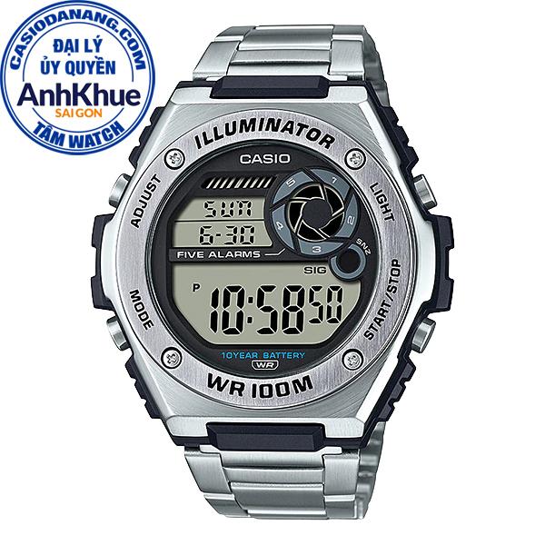 Đồng hồ nam dây kim loại Casio Standard chính hãng Anh Khuê MWD-100HD-1AVDF (50mm)