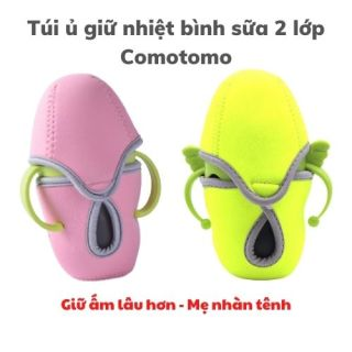 Túi ủ và giữ nhiệt bình sữa Comotomo 150ml 250ml thumbnail
