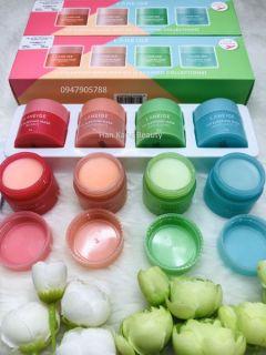 Mặt nạ ngủ cho môi Lip sleeping mask mini kit (4 scented collections) 1 hũ thumbnail