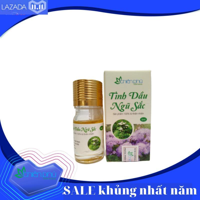 Tinh dầu ngũ sắc Thiên Phú 5ml- đặc trị viêm xoang mũi, viêm mũi dị ứng