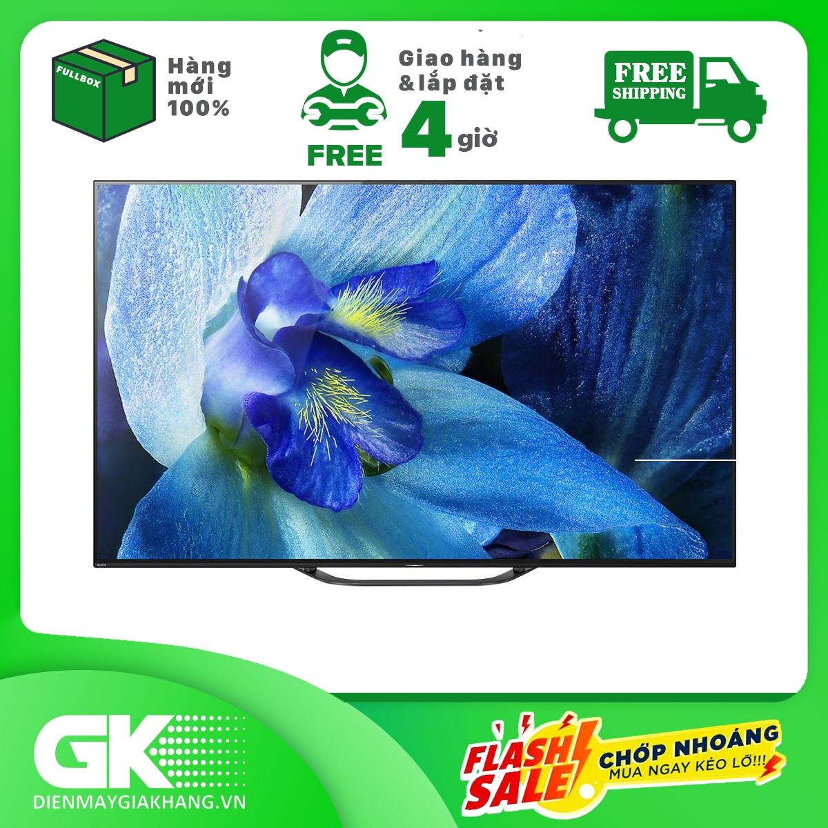 Bảng giá Android Tivi OLED Sony 4K 55 inch KD-55A8G