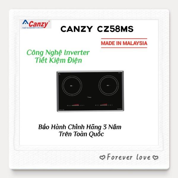 Bếp Từ Đôi Inverter Nhập Khẩu MALAYSIA CANZY CZ58MS