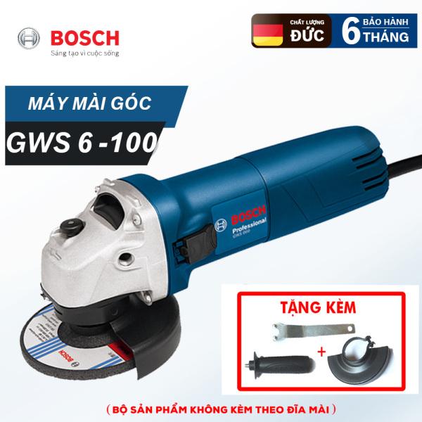[Bảo hành 6 tháng] Máy mài góc nhỏ BOSH GWS6 - 100 -  Máy cắt sắt cầm tay Bosh GWS6 100 Công suất 670W
