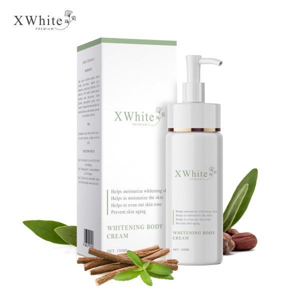 Kem ủ trắng toàn thân an toàn Xwhite được chuyên gia da liễu khuyên dùng 150ml - Whitening Body Cream giá rẻ
