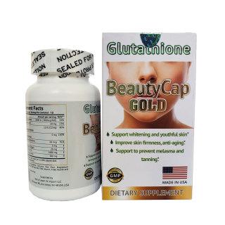 Viên uống trắng da Glutathione Collagen AECB5 BeautyCap Gold Mỹ thumbnail