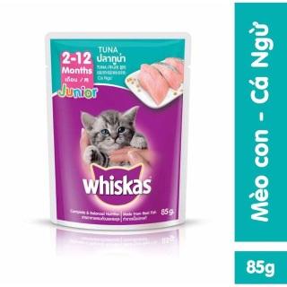 Pate mèo con Whiskas Junior 80g Thức ăn ướt cho mèo con thumbnail