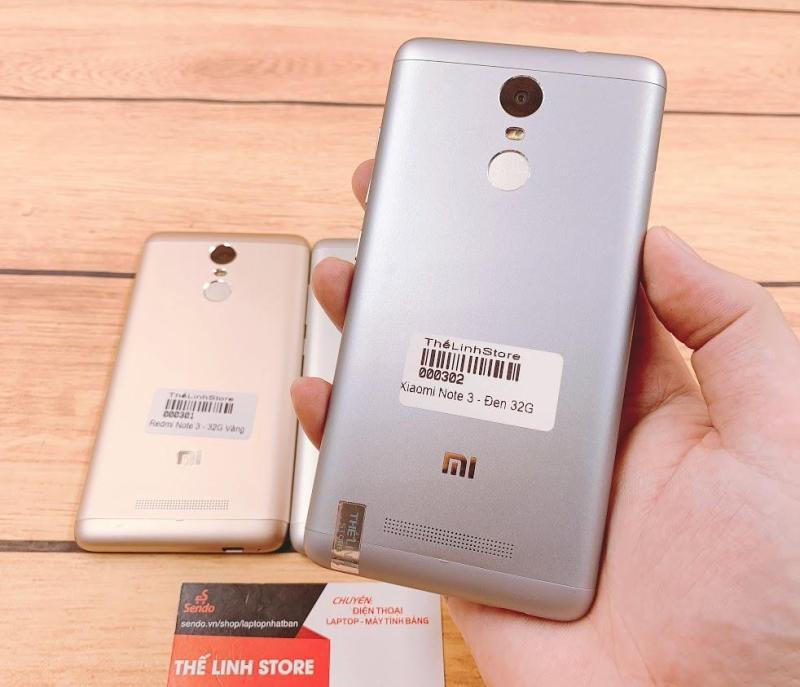 ĐIện thoại Xiaomi Redmi Note 3 hỗ trợ 2 Sim - 16G/32G