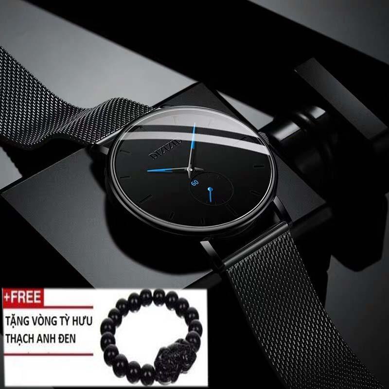 Nơi bán Đồng hồ nam DIZIZID mẫu mới NEW&HOT nhất năm 2019 thiết kế dây thép lụa bảo bảo hành 12 tháng