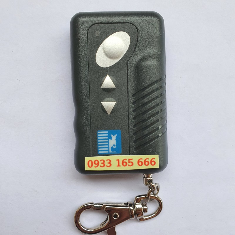 Remote - Tay điều khiển cửa cuốn 3 nút AUSTDOOR DK2 chống sao chép - lắp cho các loại cửa AUSTDOOR giá trên là giá 01 tay điều khiển - có hướng dẫn cài đặt