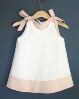Đầm bé gái TITIKIDS đơn giản mát mẻ cho mùa mè 2020 - Đầm cho bé gái vào mùa hè - Đầm mùa hè cho bé gái