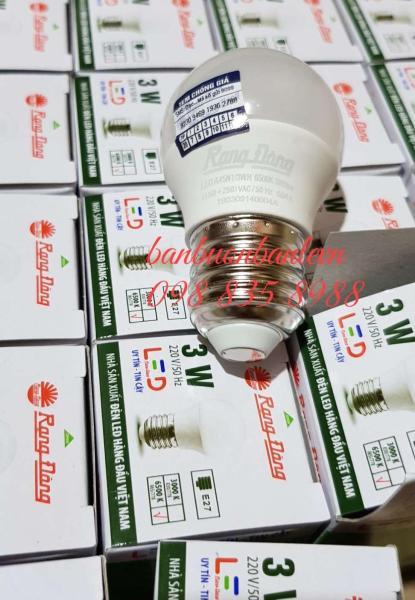 Bóng đèn LED BULB Rạng Đông 3w