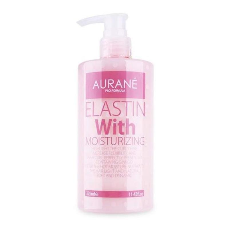 Gel dưỡng tạo kiểu tóc xoăn Aurane Elastin with Moisturizing 325ml giá rẻ