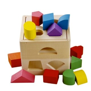 Đồ chơi Hộp thả khối đa năng - Đồ chơi giáo dục gỗ an toàn thumbnail