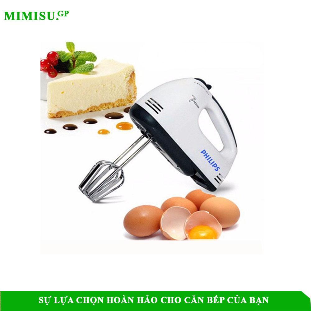 Máy Đánh Trứng Cầm Tay - MAY DANH TRUNG CAM TAY  PHILIPS 07 Tốc Độ 180W Loại Cao Cấp 2019 - Mimisu.GP Store
