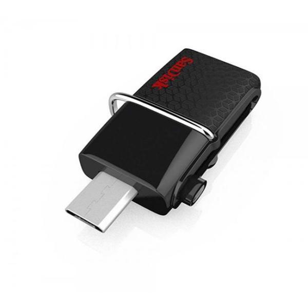 Giá USB OTG sandisk 16GB Ultra Dual USB 3.0 150MB/s SDDD2 (Đen)