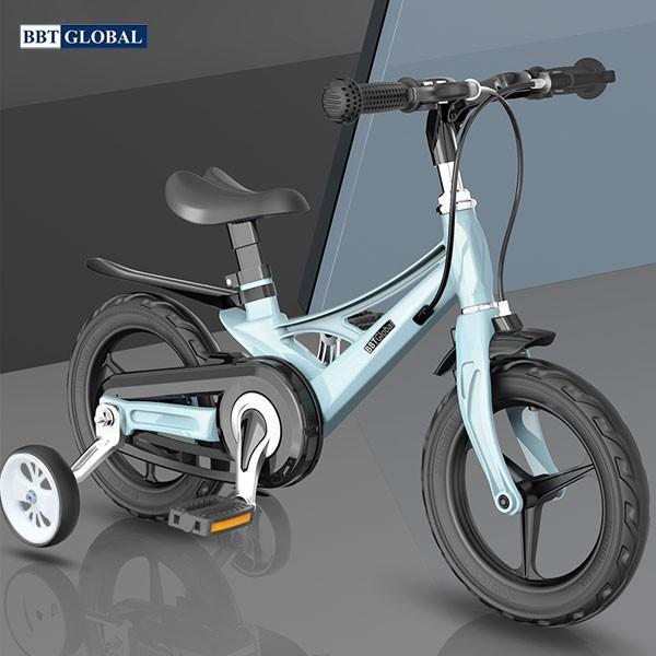 Mua Xe đạp cho bé BBT Global khung Magie siêu nhẹ size 14 in màu xanh BB66-14X