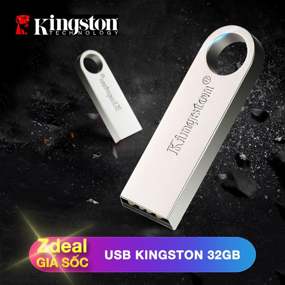 Hình ảnh USB 32GB Kingston 2.0 (vỏ kim loại nguyên khối, chống va đập)