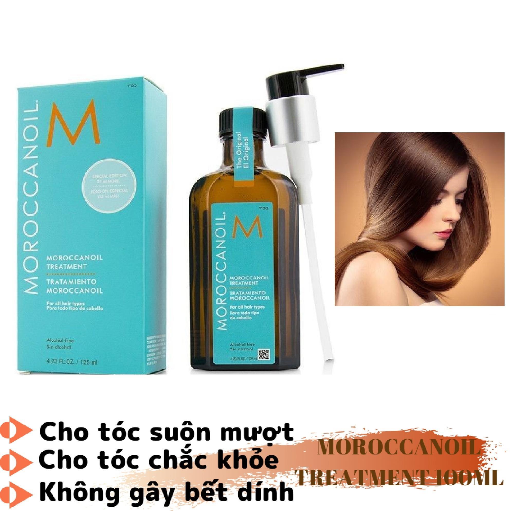 Tinh dầu DƯỠNG và PHỤC HỒI hư tổn tóc khô xơ Moroccanoil (Moroccan oil) Treatment (100 ml)