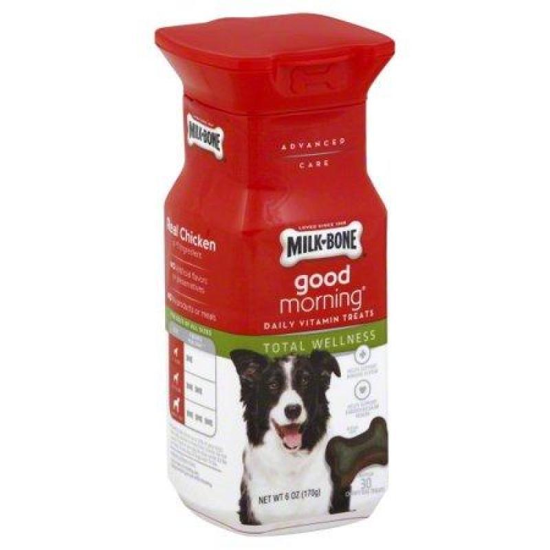 Viên nhai hình khúc xương bổ sung vitamin cho cún cưng Good morning daily vitamin treats hủ 170 g