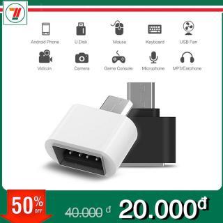 Đầu chuyển otg chuyển từ USB sang đầu Micro USB Type C thumbnail