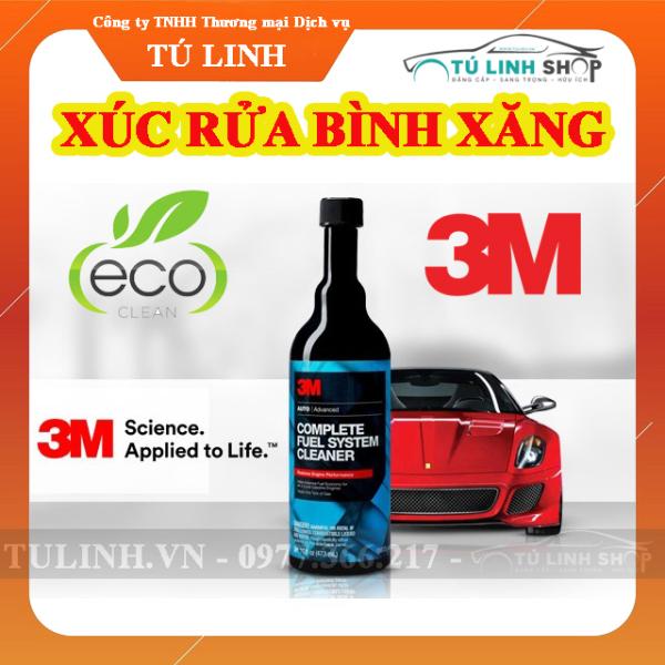Xúc cặn bình xăng ô tô 3M Complete Fuel System Cleaner 08813 473ml