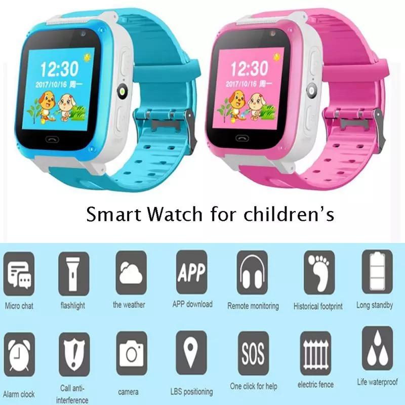 Đồng hồ thông minh Y7  dành cho trẻ em , kèm sim về chỉ việc dùng không thấm nước có Định vị nghe gọi hai chiều bảo hành 12 tháng 1 đổi 1.