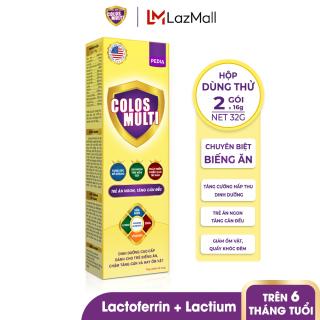 [HỘP DÙNG THỬ] Sữa bột Mama Sữa Non Colosmulti Pedia giúp trẻ ăn ngoan, tăng cường hấp thu hộp 2 gói x 16g thumbnail