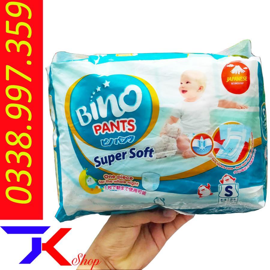 Mã Khuyến Mãi Tã /Bỉm Quần BINO Panties Full Size S24-M40-M60-L36-L54-XL32-XL48-XXL28-XXL44