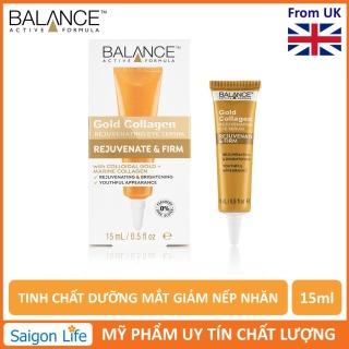 Tinh Châ t Dươ ng Mắt, Gia m Nê p Nhăn Balance Active Formula Gold Collagen Serum 15ml thumbnail